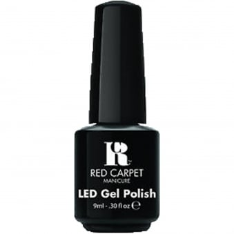 LED Nail Polish - Black Stretch Limo 9ml