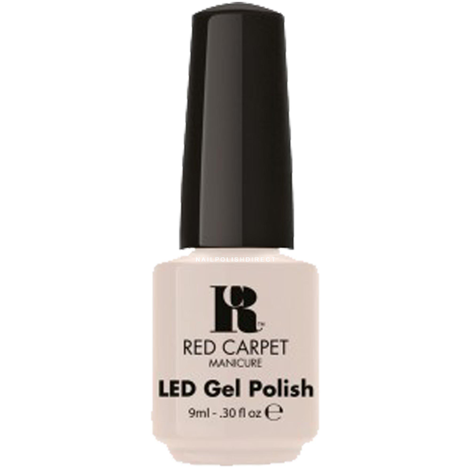 Gel Nail Polish Uk: Red Carpet LED Gel Nail Polish Camera Shy 9ml