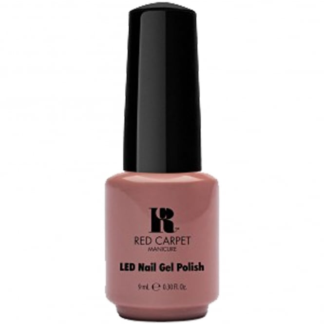 Red Carpet Manicure Gel LED Nail Polish Collection - Re-Nude 9mL