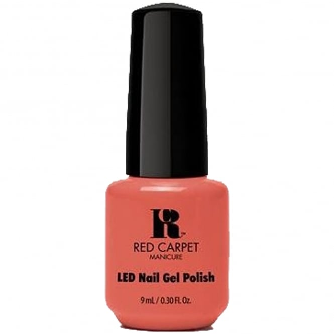 Red Carpet Manicure Gel LED Nail Polish - Coral Wishes 9ml