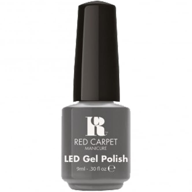 Red Carpet Manicure Gel LED Nail Polish - Lighter Shade Of Grey 9ml