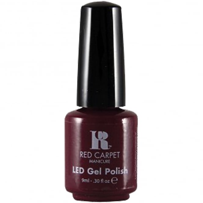 Red Carpet Manicure Gel LED Nail Polish - Plum Up The Volume 9ml