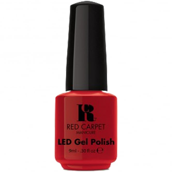 Red Carpet Manicure Gel LED Nail Polish - Red Carpet Reddy 9ml