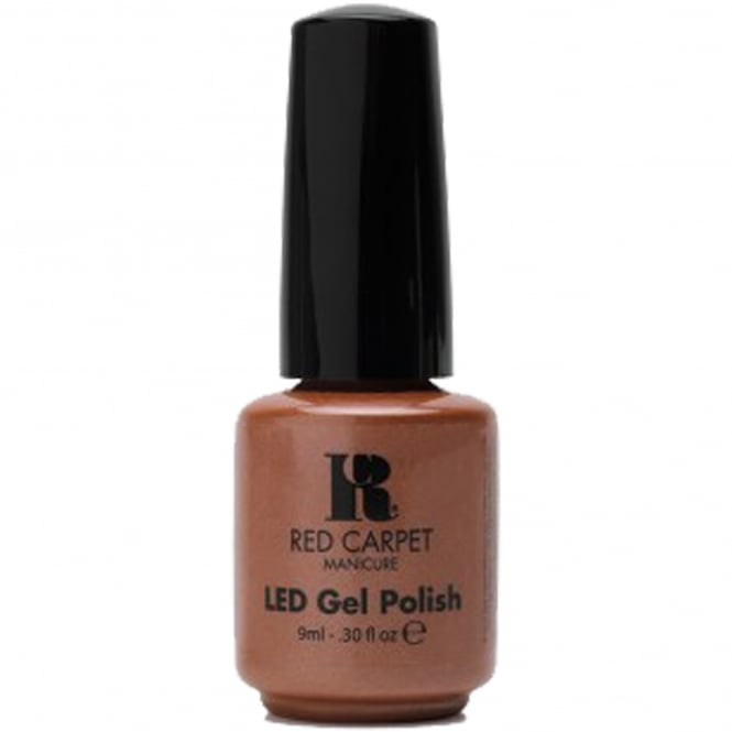Red Carpet Manicure Gel LED Nail Polish - Shimmery Silouette 9ml