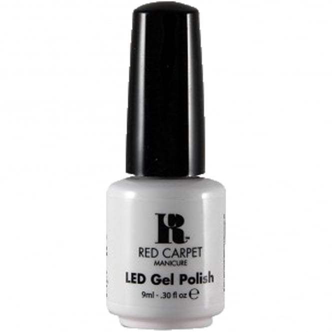Red Carpet Manicure Gel LED Nail Polish - White Hot 9ml
