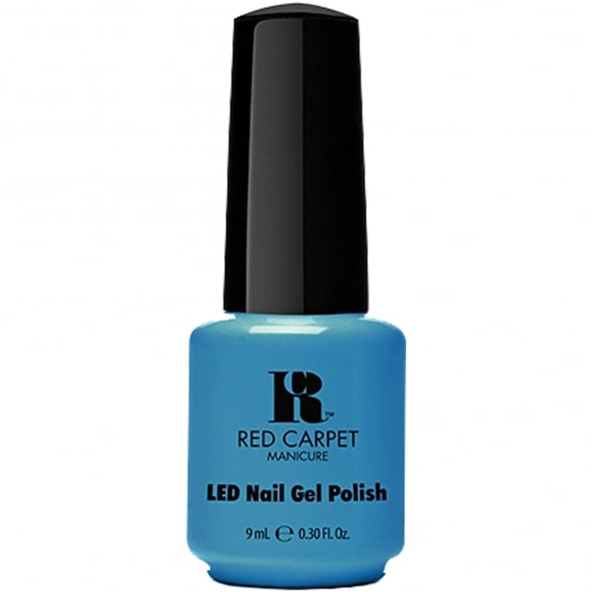 Red Carpet Manicure Gel Life's A Beach LED Nail Polish Collection - Sandal Scandal 9mL