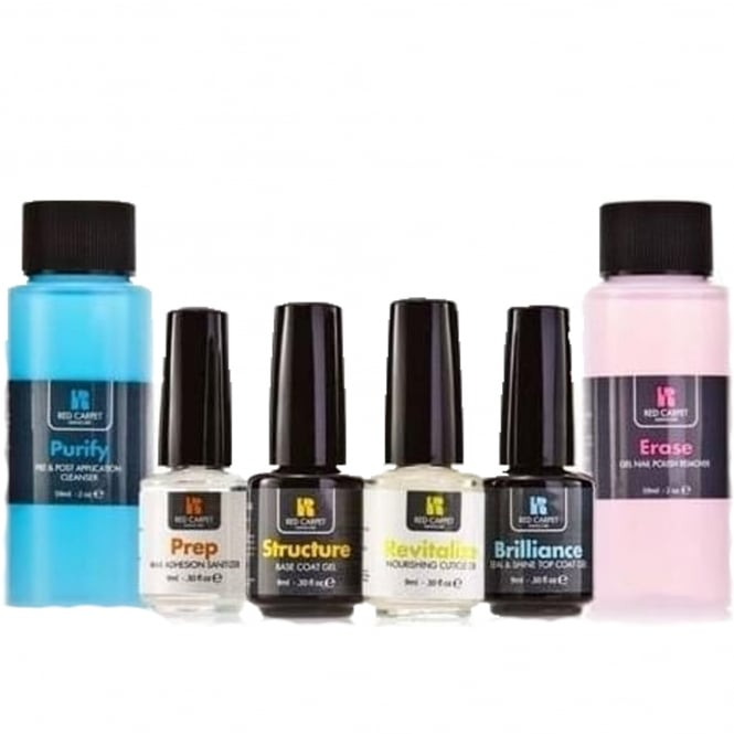 Red Carpet Manicure Gel Must Haves Kit (x6 Piece)