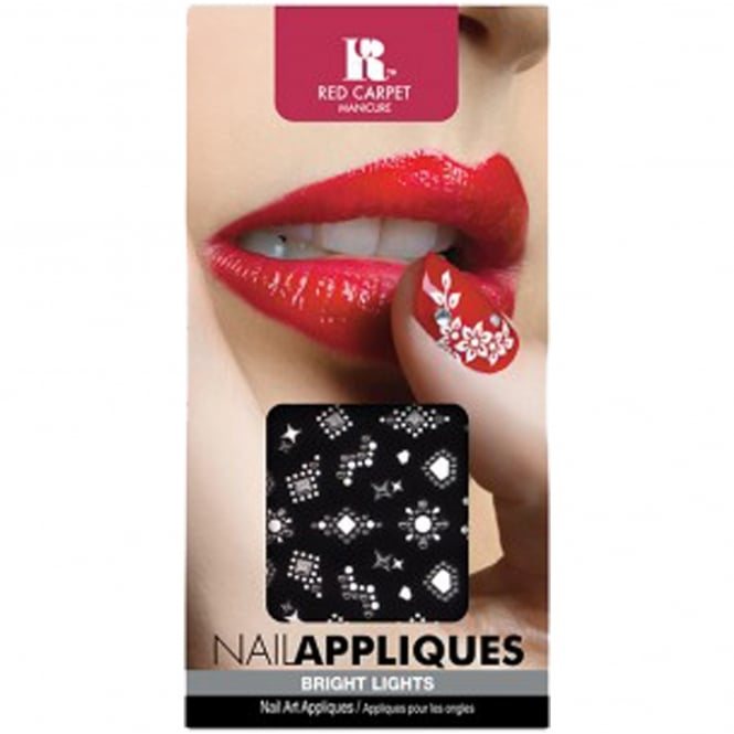 Red Carpet Manicure Gel Nail Appliques Nail Art - Bright Lights (481)