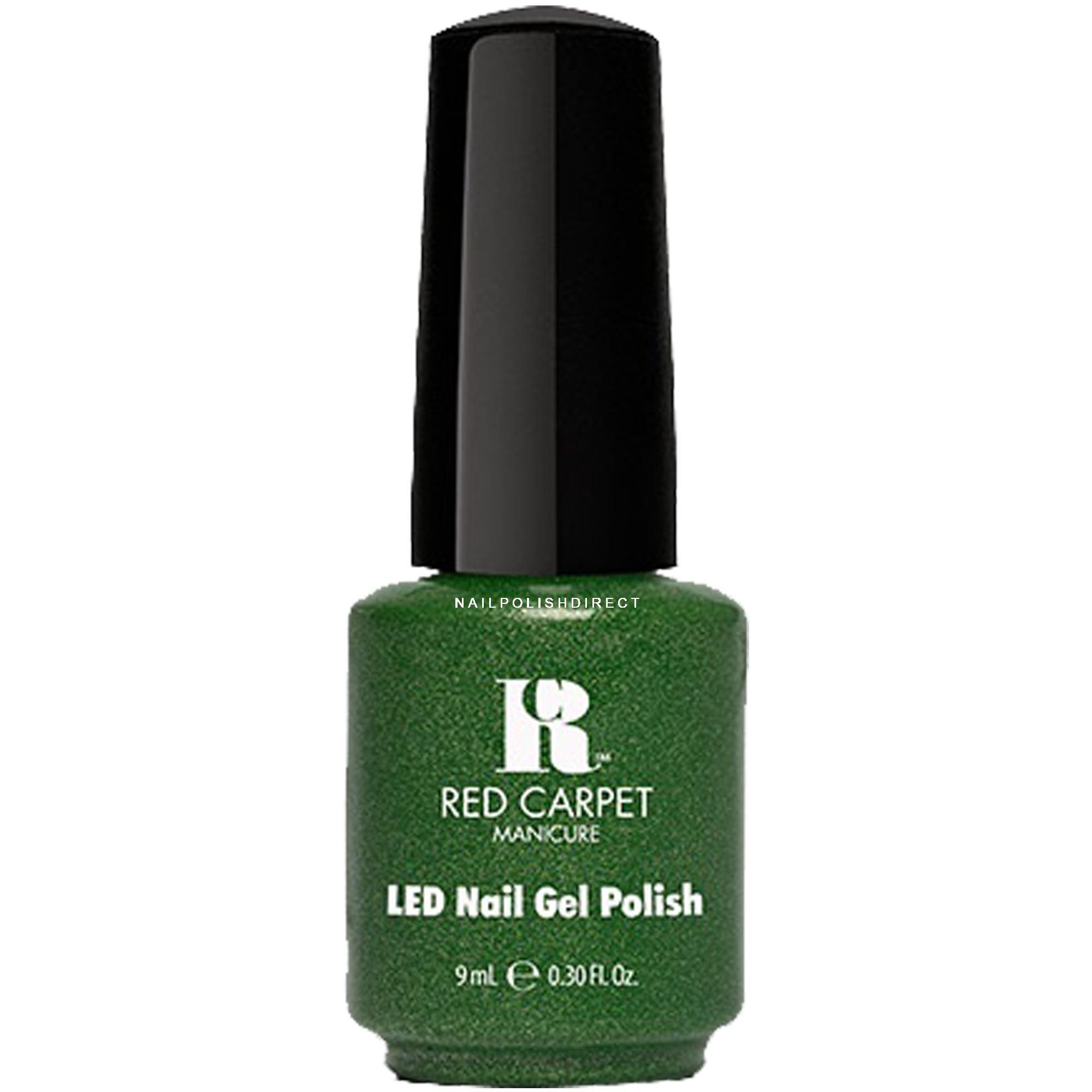 Red Carpet Power Of The Gem BirthStone LED Gel Nail Polish Emerald 280