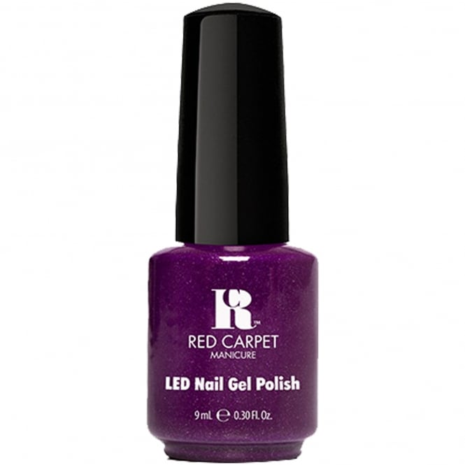 Red Carpet Manicure Gel Power Of The Gem BirthStone LED Nail Polish Collection - Amethyst 9ml (277)