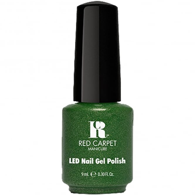 Red Carpet Manicure Gel Power Of The Gem BirthStone LED Nail Polish Collection - Emerald 9ml (280)