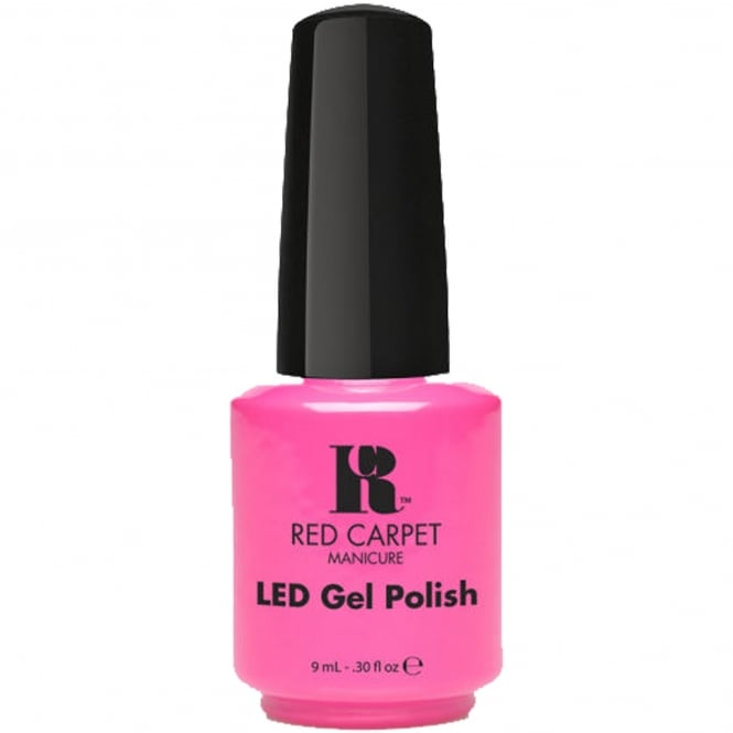 Red Carpet Manicure Gel Summer Nail Polish Collection Weekend In The Hamptons - Socialite Status 9ml