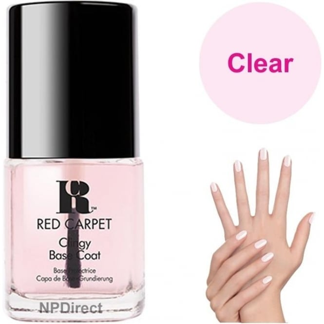 Red Carpet Nail Polish Lacquer - Clingy - Base Coat - 15ml