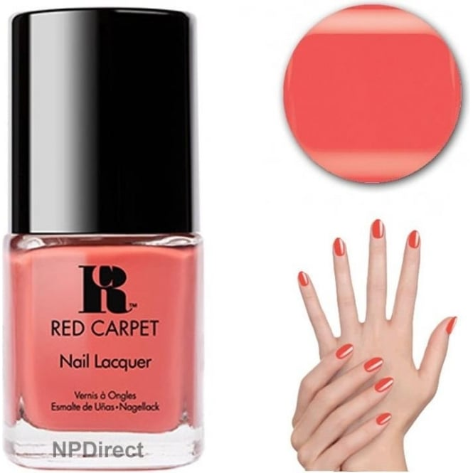 Red Carpet Nail Polish Lacquer - On Screen Kiss 15ml