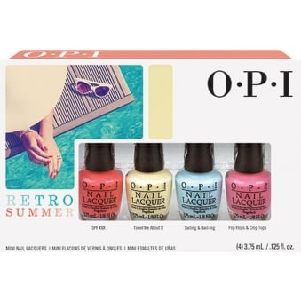 Retro Summer 2016 Nail Polish Collection - Mini Pack (4 x 3.75ml) (DD R03)