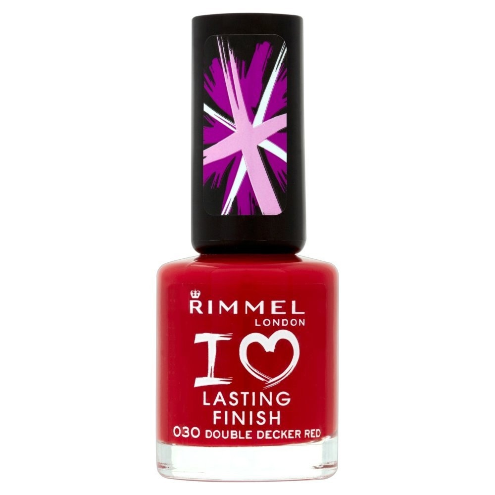 Rimmel Lasting Finish Nail Polish Double Decker Red (030
