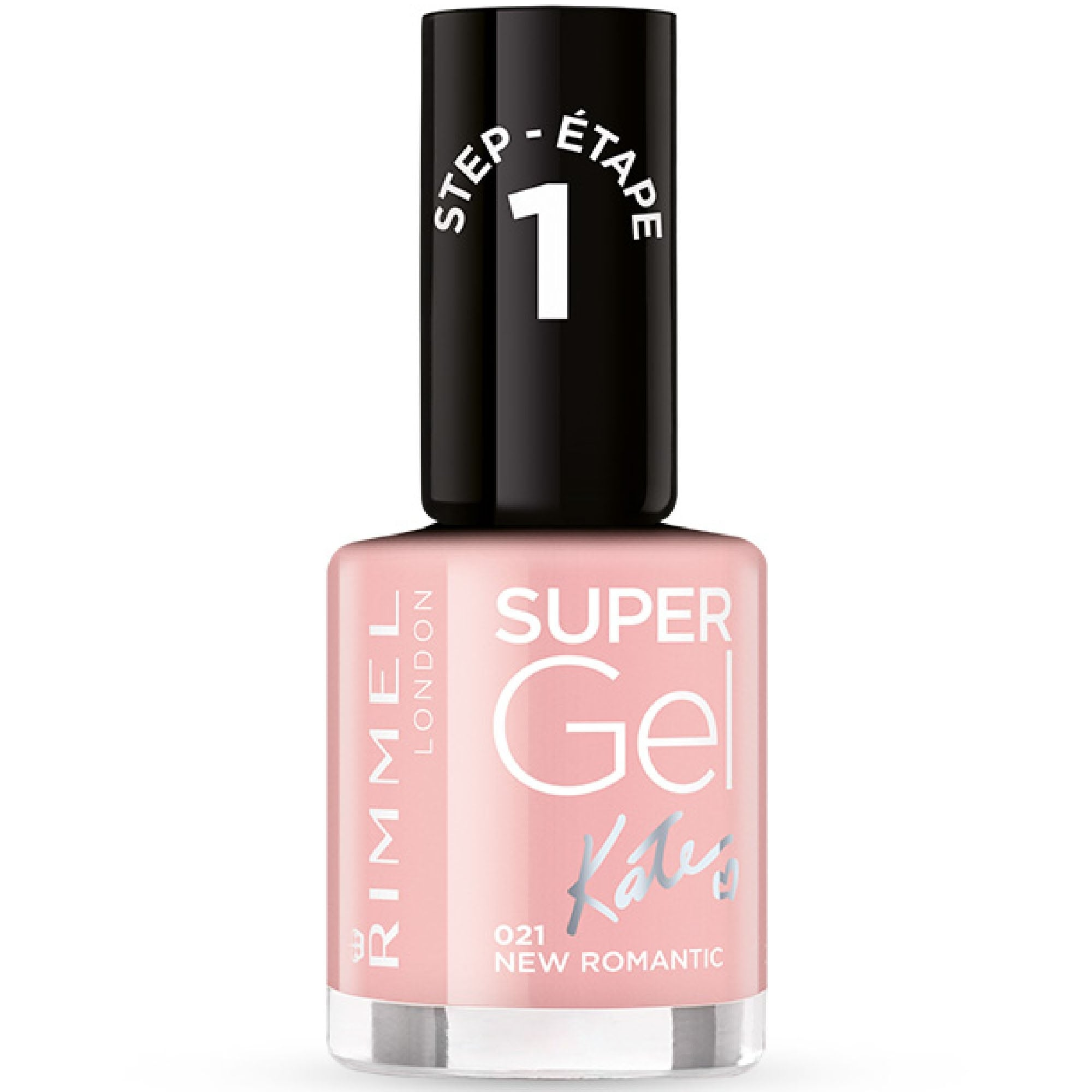Rimmel Super Gel Colour Nail Polish - New Romantic (021) 12ml