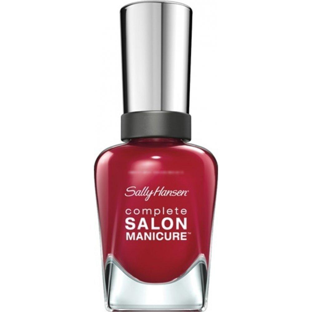 sally hansen high impact nail polish red handed. Black Bedroom Furniture Sets. Home Design Ideas