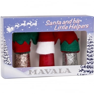 Santa And His Litter Helpers Gift Box - 3 x 5ml