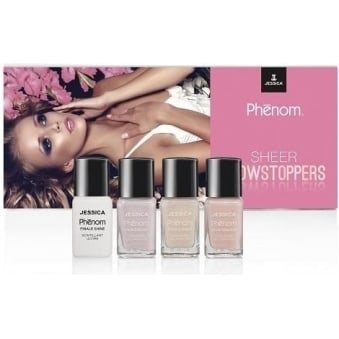 Sheer Showstopper Vivid Colour Weekly Nail Polish Collection - Set Of 4 (4x 15mL)