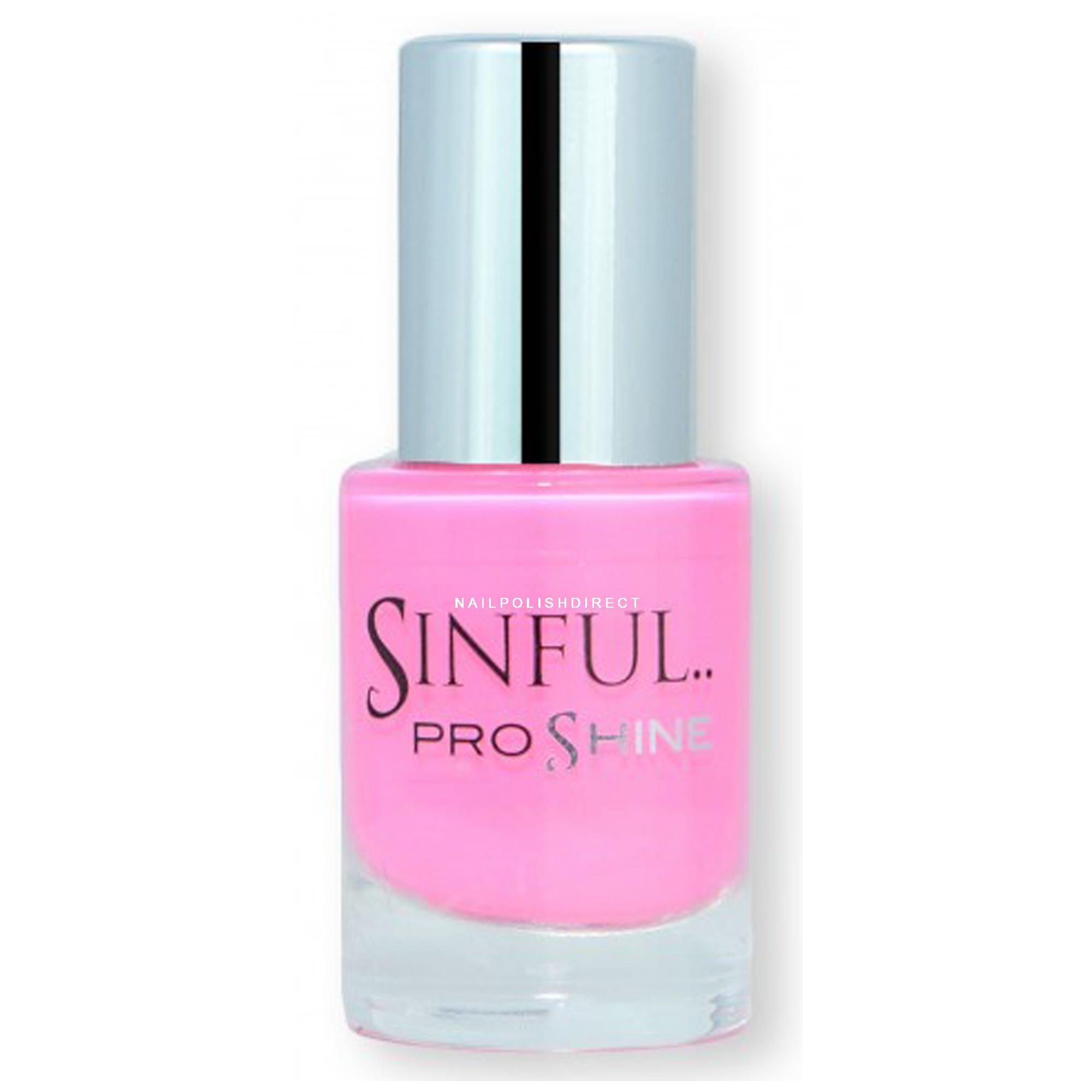 Nail Polish For Baby: Sinful Pro Shine Nail Polish