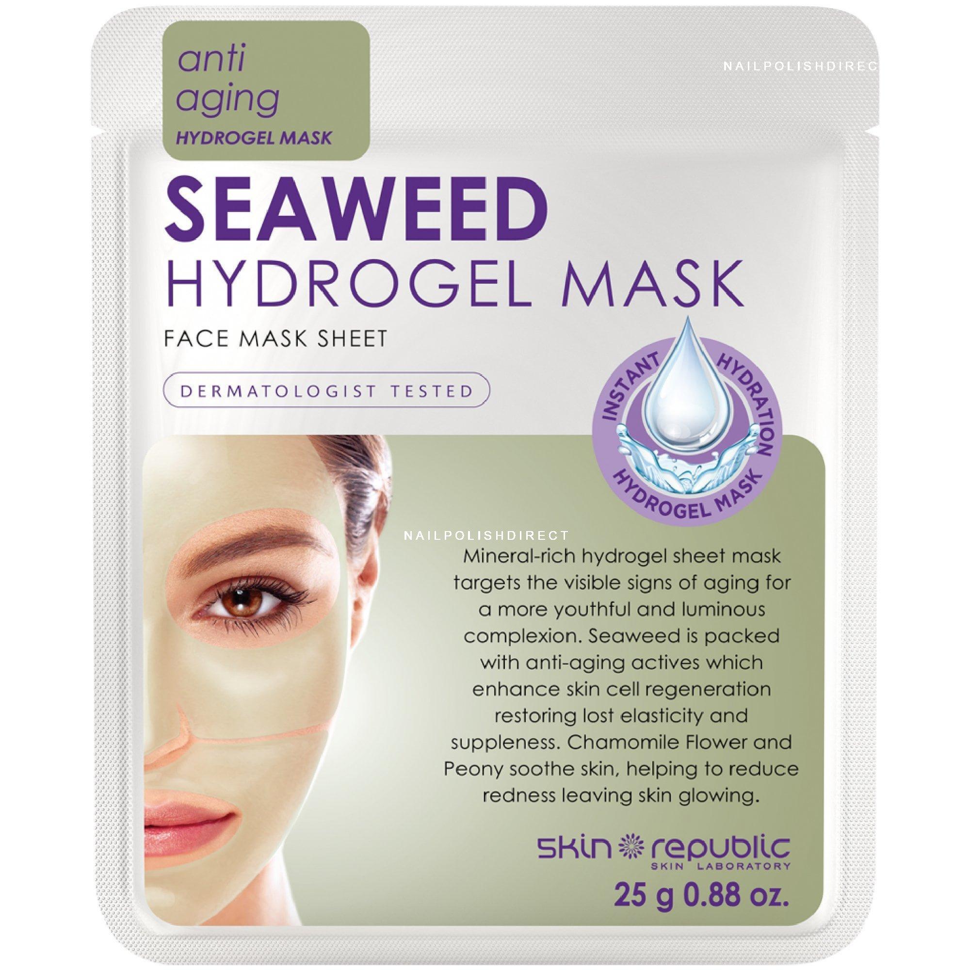 Skin Republic Seaweed Hydrogel Face Mask Sheet Sr024 25g