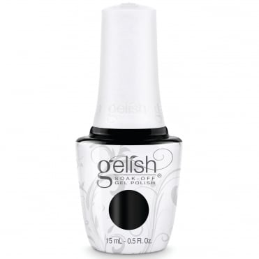 Soak-Off Gel Nail Polish - Black Shadow 15ml