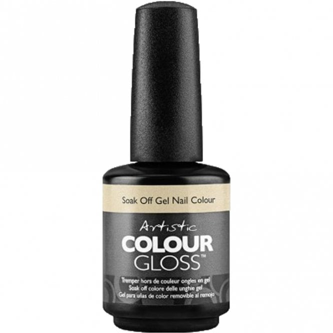 Artistic Colour Gloss Soak Off Gel Nail Polish - But First, Champagne! 15ml (2100048)