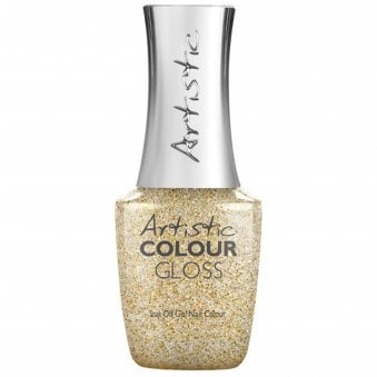 Soak Off Gel Nail Polish - Gold Digger 15mL (03125)