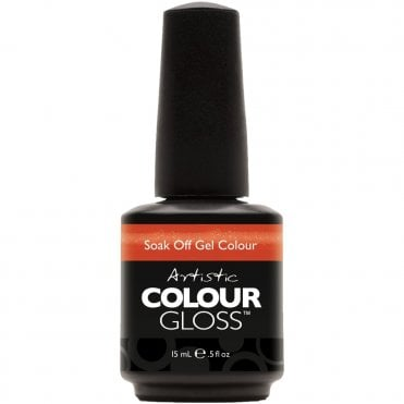 Soak Off Gel Nail Polish - Haute Cout Orange 15mL (03087)