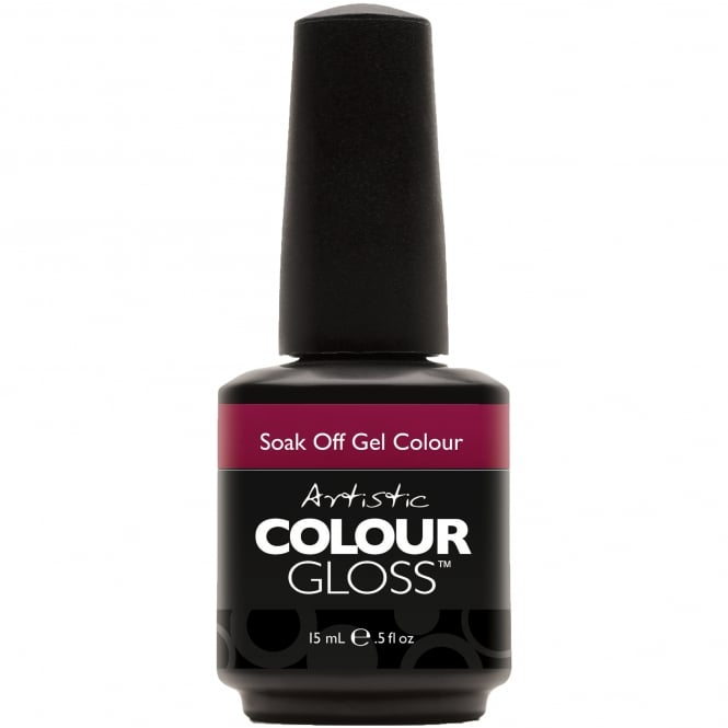 Artistic Colour Gloss Soak Off Gel Nail Polish - Independence 15mL (03146)