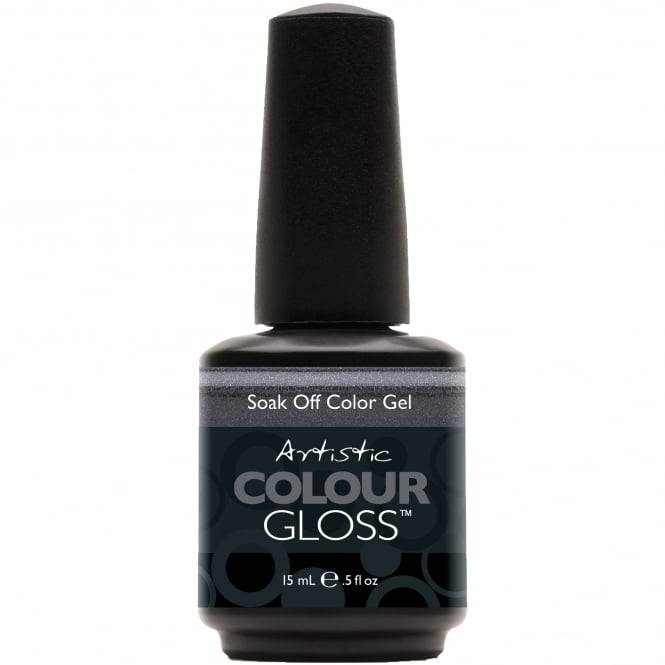 Artistic Colour Gloss Soak Off Gel Nail Polish - Metro 15mL (03007)