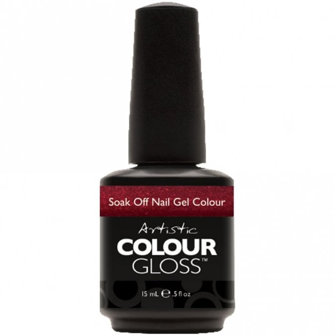 Artistic Colour Gloss Soak Off Gel Nail Polish - Sinful 15mL (03127)