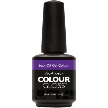 Soak Off Retro Redux Gel Nail Polish Collection 2016 - Pin Up Purple 15ml (2100021)