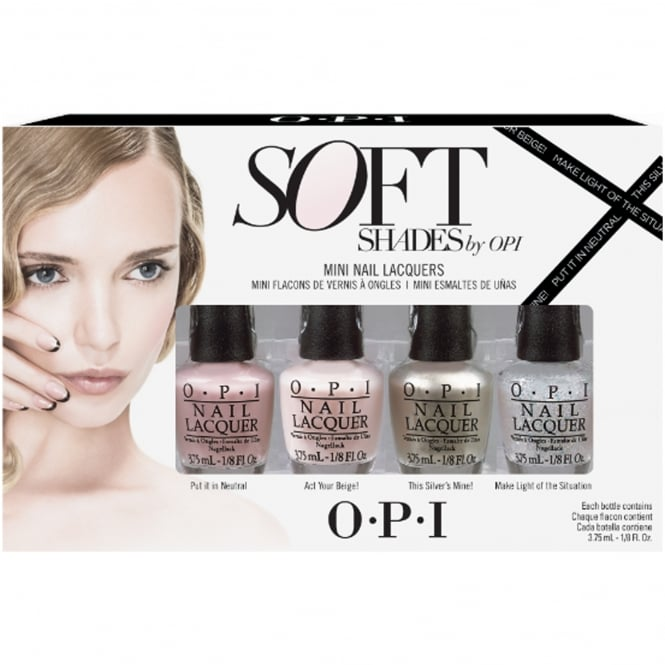 OPI Soft Shades 2015 Nail Polish Collection 2015 - Mini 4-Piece Set (x4 3.75 ml)
