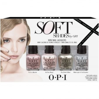 Soft Shades 2015 Nail Polish Collection 2015 - Mini 4-Piece Set (x4 3.75 ml)