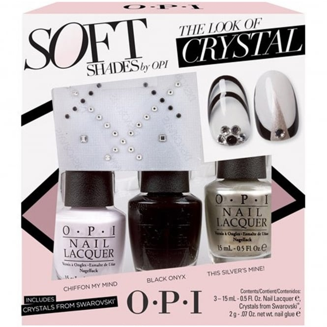 OPI Soft Shades Nail Polish Collection 2015 - The Look Of Crystal Trio 3 X 15ML (DD S28)