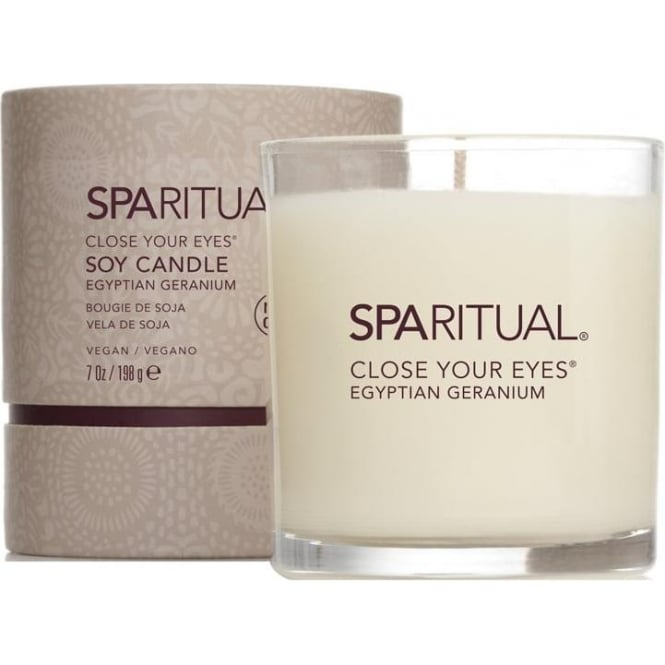 SpaRitual Close Your Eyes Soy Candle (210) 198g