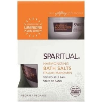Harmonizing Vegan Bath Salts - Italian Mandarin 228ml (+ 1 Travel Size Tub 44ml)