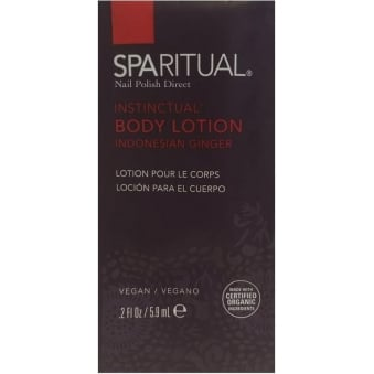 Instinctual Body Lotion (Sachet) - Indonesian Ginger 5.9mL