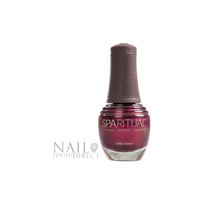 SpaRitual Nail Polish Lacquer - Days of Wine and Roses (122) 15mL