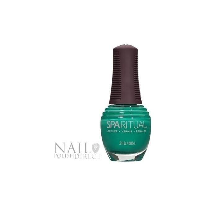 SpaRitual Nail Polish Lacquer - Emerald City (383) 15mL