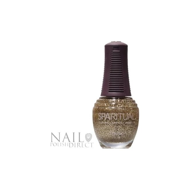 SpaRitual Nail Polish Lacquer - Golden Rule (183) 15mL