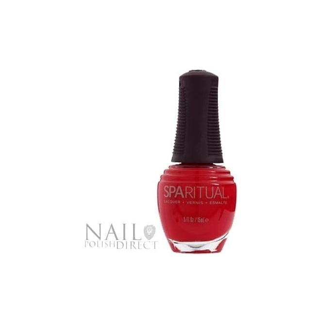 SpaRitual Nail Polish Lacquer - Hot Blooded (013) 15mL