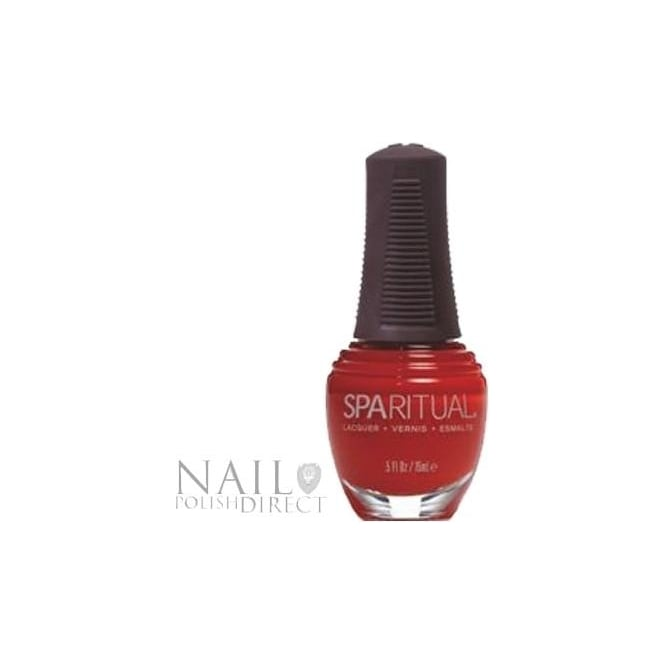 SpaRitual Nail Polish Lacquer - Poppy (046) 15mL