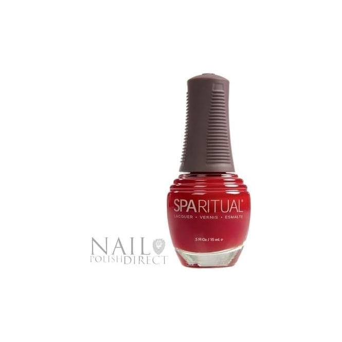 SpaRitual Nail Polish Lacquer - Too Hot To Handle (015) 15mL