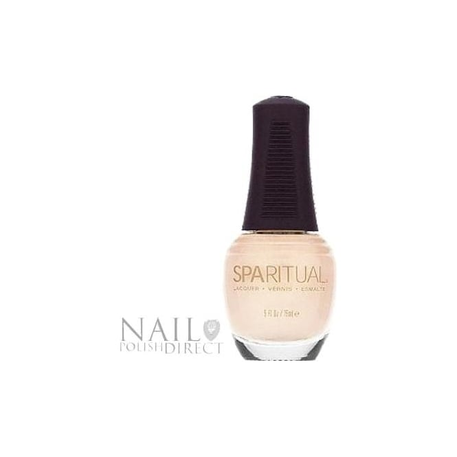 SpaRitual Nail Polish Lacquer - Water Lily (358) 15mL