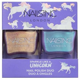 Sparkle Like A Unicorn - Nail Polish Duo Set - (2 X 14ML)
