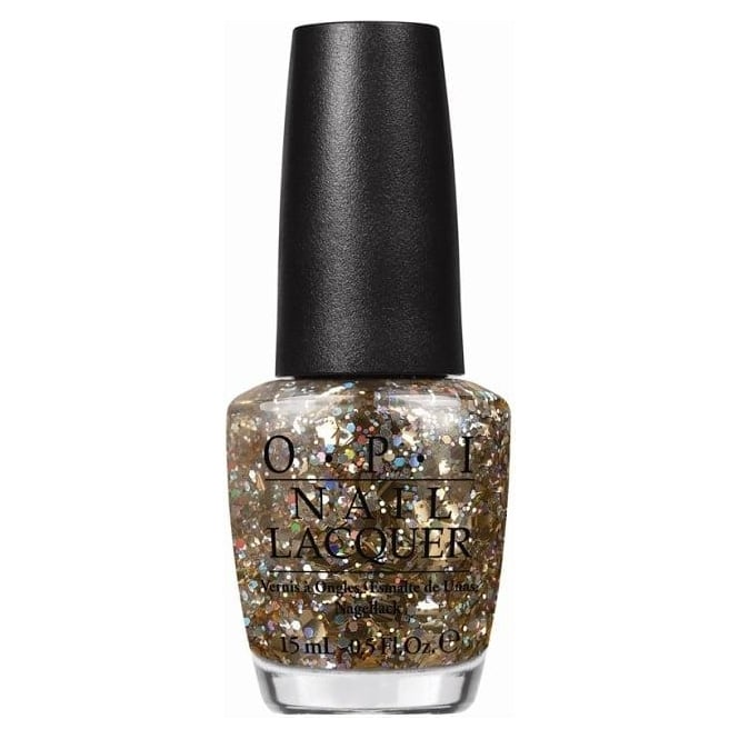 OPI Spotlight On Glitter 2014 Nail Polish Collection - I Reached My Gold 15ml (NL G38)