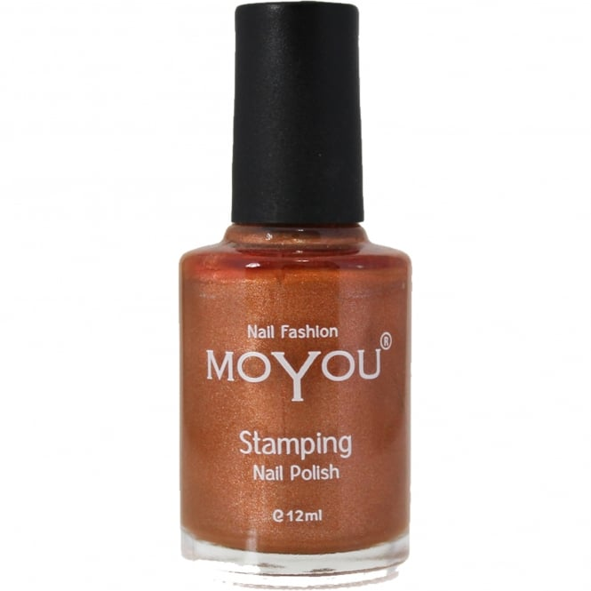 MoYou Stamping Nail Art Metallic Collection - Special Nail Polish - Emperors Gold 12ml